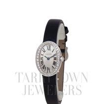 Cartier Baignoire Oro blanco 19mm Plata Romanos