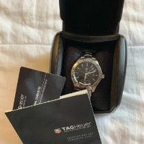 TAG Heuer Link Calibre 7 Steel 42mmmm Black No numerals