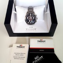 Tissot tweedehands Quartz 42mm Zwart Saffierglas 1 ATM