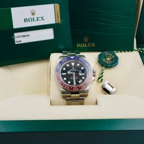 Rolex 116719BLRO Or blanc 2015 GMT-Master II 40mm occasion