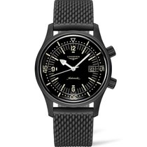 Longines Legend Diver 42mm Black Arabic numerals United States of America, New York, NY