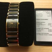 Rado Integral Gold/Steel 20mm Black No numerals