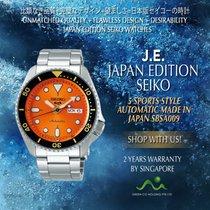 Seiko Steel Automatic No numerals 42.5mm new 5 Sports