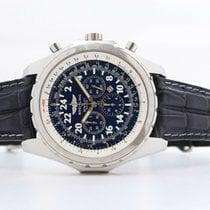 Breitling Bentley Le Mans Stahl 48mm Blau Keine Ziffern