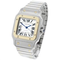Cartier Santos Galbée Steel 45mm Roman numerals United Kingdom, London