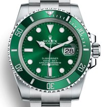 Rolex Submariner Date 116610LV New Steel 40mm Automatic