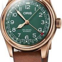 Oris Big Crown Pointer Date Bronze 40mm Green Arabic numerals United States of America, California, Moorpark