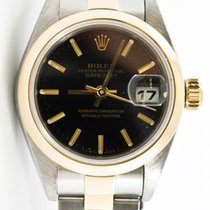 Rolex Oyster Perpetual Lady Date Gold/Steel 26mm Black United States of America, Florida, Miami
