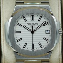 Patek Philippe Nautilus Steel 40mm White No numerals United States of America, Massachusetts, Pittsfield