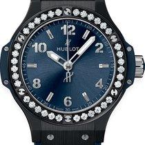 Hublot Big Bang 38 mm Ceramic 38mm Blue Arabic numerals