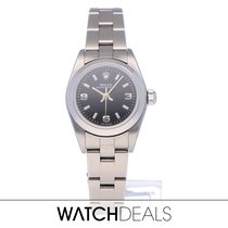 Rolex Oyster Perpetual 26 usados 24mm Negro Acero