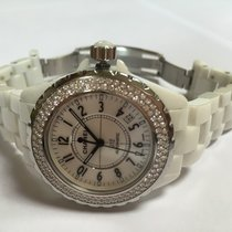 Chanel J12 38 mm Automatique, Diamants Garantie 1 an