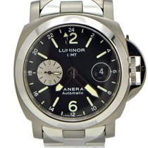 Panerai PAM 161 Titanium Luminor GMT Automatic 44mm pre-owned United States of America, New York, New York