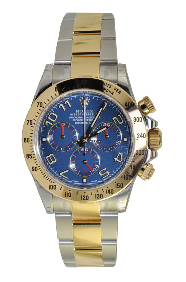 Rolex Cosmograph Daytona, Blue Dial,Stainless Steel