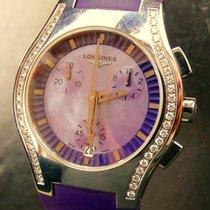 Longines Oposition Сталь 32mm Фиолетовый