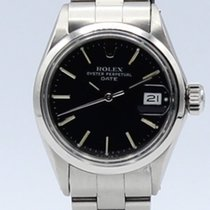 Rolex Oyster Perpetual Lady Date Acero 25mm Negro Sin cifras España, Barcelona
