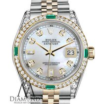 Rolex Lady-Datejust Acero y oro 26mm Madreperla Sin cifras