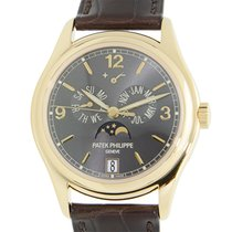 百達翡麗 (Patek Philippe) Complications 18 K Yellow Gold Dark Grey...