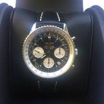 Breitling Navitimer A2332212, stal, czarny pasek ze skóry,...