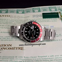 Rolex 16710 GMT-Master II Coke with Original Paper & Tag