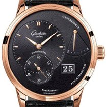 Glashütte Original Red gold Automatic Black 40mm new PanoReserve