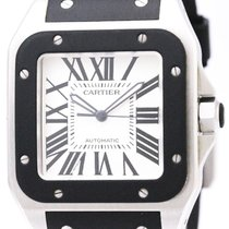 Cartier Santos 100 Automatic Stainless Steel Men's Sports...