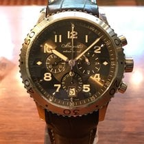 Breguet Type XX - XXI - XXII Acier 42mm Brun Arabes France, Paris