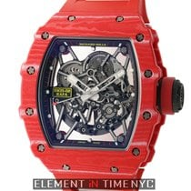 Richard Mille Carbono 45mm Automático RM35-02 novo
