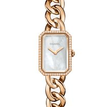 Chanel Première Rose gold 20mm Mother of pearl