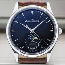 Jaeger-LeCoultre Q1368470 Master Ultra Thin Moon SS Black Dial...