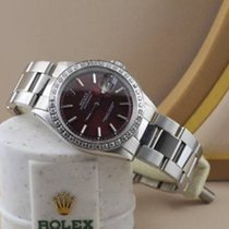 Rolex Datejust Burgundy Dial Pristine