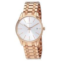 ck Calvin Klein Ladies K4N23646 Time Rose Gold Coated Watch