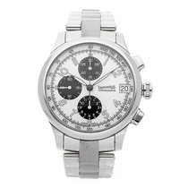 Eberhard & Co. Chronograph 43mm Automatic pre-owned Traversetolo White