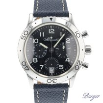 Breguet Chronograph 39.5mm Automatic pre-owned Type XX - XXI - XXII Black