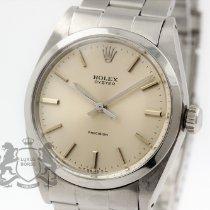 Rolex Oyster Precision Stahl 34mm Silber Keine Ziffern Schweiz, Zürich