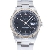 Rolex Datejust Turn-O-Graph pre-owned 36mm Black Date Steel