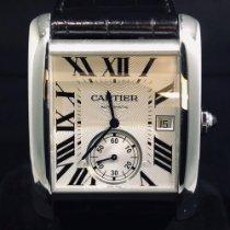 Cartier Acier 34mm Remontage automatique 3589 occasion Belgique, Antwerpen