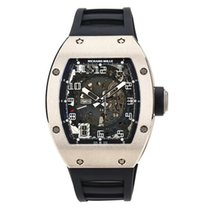 Richard Mille White gold Automatic Transparent Arabic numerals 48mm pre-owned RM 010