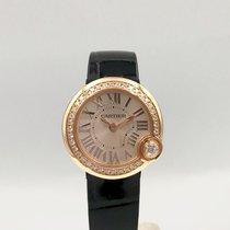 Cartier Ballon Blanc Złoto różowe 26mm Szary Rzymskie