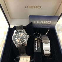 Seiko Marinemaster Steel 39.9mm Black United States of America, Illinois, Elmhurst