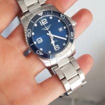 Longines HydroConquest Acciaio 41mm Blu Italia, alessandria