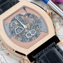 F.P.Journe Rose gold Manual winding Transparent Arabic numerals new Vagabondage II