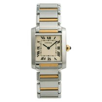 Cartier Tank Française Steel 25mm White Roman numerals United States of America, New York, New York