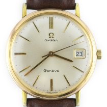Omega Yellow gold Manual winding pre-owned Genève
