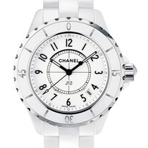 Chanel J12 Ceramic 33mm White Arabic numerals United States of America, New York, NEW YORK