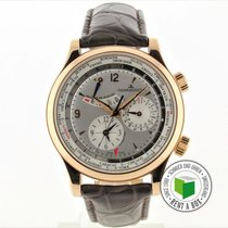 Jaeger-LeCoultre Master World Geographic Oro rojo 41.5mm Árabes