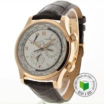 Jaeger-LeCoultre Master World Geographic Aur rosu 41.5mm Arabic