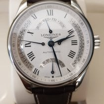 Longines Stål 44mm Automatisk Master Collection ny