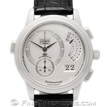 Glashütte Original PanoRetroGraph White gold 39.4mm Silver
