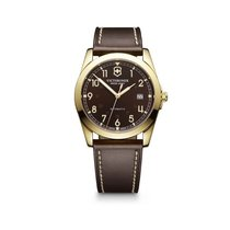 Victorinox Swiss Army Infantry mechanical brown dial, gold...